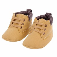 born Baby Casual Shoes Infant Toddler Girl Baby Crib Shoes Boot born Soft Sole Pre walker Anti-slip Soft Martin Shoes