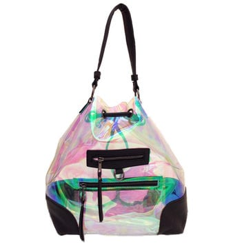 Hologram tote and back pack