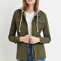 Contemporary Layered Utility Jacket