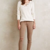 Mother Looker Ankle Fray Jeans in Coast Point Size: