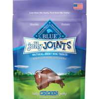 BLUE Jolly Joints Jerky Treats for dogs are all natural and healthy