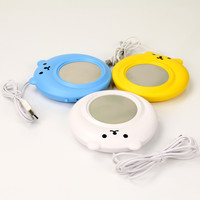 Portable USB Electronic Warmer Coffee Milk Tea Cup Heating Pad Plate = 4451565572