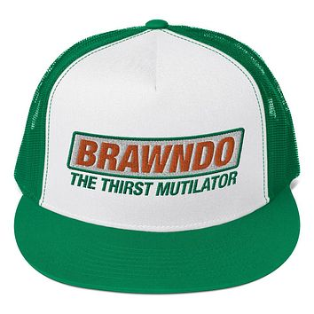 Brawndo The Thirst Mutilator Trucker Cap