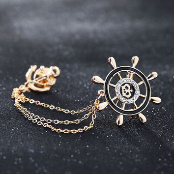 Korean Navy Chain Accessory Suits [8026338055]