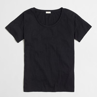 FACTORY SKETCHED COTTON DROP-SHOULDER TEE