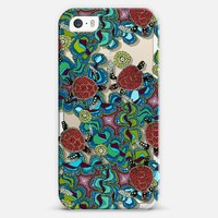 turtle reef transparent iPhone 5s case by Sharon Turner | Casetagram ~ get $5 off using code: 5A7DC3