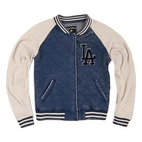 Los Angeles Dodgers - Logo Brownstein Juniors Baseball Jacket