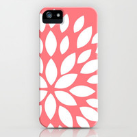 Coral Flower iPhone Case by Samantha Ranlet | Society6