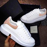 Alexander McQueen Fashionable Women Men Casual Sport Running Sneaker Shoes