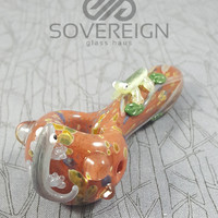 Something Newt Spoon Pipe by Empire Glassworks