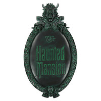 disney parks the haunted mansion wall sign plaque sign marquee replica new