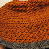Crochet Pattern - Star Stitch Cover Up Shawl Chunky Cowl - S/M
