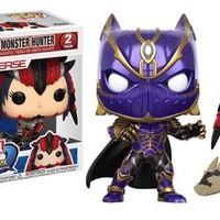 Funko POP Games Marvel vs Capcom Black Panther vs Monster Hunter 2-Pack