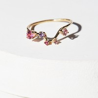 Free People 14K Constellation Stone Ring