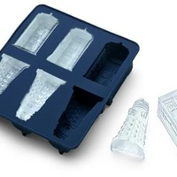 Doctor Who Silicone Ice Cube Tray Tardis and Daleks