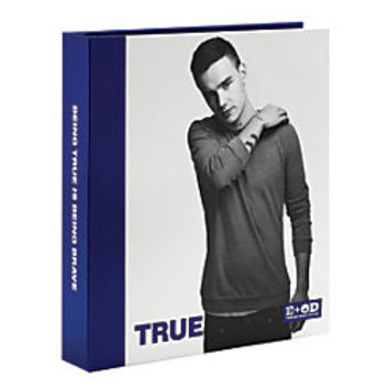 One Direction Limited Edition 1D OD Together Round Ring Binder Liam True Navy Blue by Office Depot