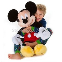 Mickey Plush Toy Large Big 62cm 25'' Cute Mickey Minnie Pelucia Stuffed Animals Kids Toys Dolls for Children Gifts