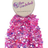 Tickled Pink Body and Face Festival Glitter (20 Grams)