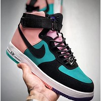 Trendsetter Nike Air Force 1  Women Men Fashion Casual Mid-Top Skateboard Shoes