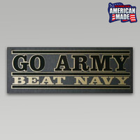Go army Beat Navy Decal | Armed Forces Gear
