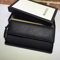 Gucci woman Black Leather wallet