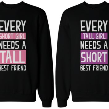 Short and Tall Sweatshirts