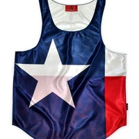 """Texas """"Lone Star State"""" Flag Tank Top"""