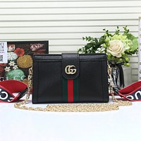 Gucci new trendy one-shoulder messenger ladies small square bag