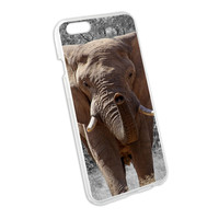Africa African Elephant Snap On Hard Protective Case for Apple iPhone 6