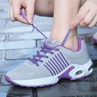 Women Tennis Shoes 2018 Four Season Trainers Sneakers Female Sport Shoes Outdoor Jogging Walking Athletic Shoes Zapatillas Mujer