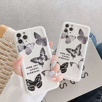 Personalized Butterfly Print iPhone11PRO Phone Case Cover