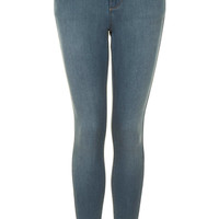 MOTO Smokey Green Leigh Jeans - Jeans - Clothing - Topshop USA