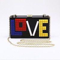 LOVE Letter Print Fashion Purse