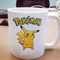 Pokemon Pikachu Ceramic Mug