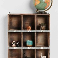 Little Boxes Wall Organizer- Brown One