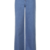 MOTO Miller Flared Jeans - Mid Stone