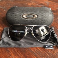 Oakley Crosshair Sunglasses, Polarised Lenses. + Soft And Hard Cases.