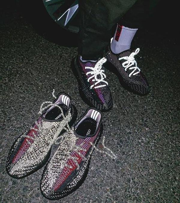 Image of Adidas Yeezy Boost 350 V2 'YECHEIL' Gym Shoes