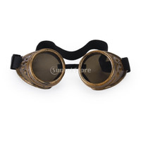Vintage Rustic Cyber Goggles Steampunk Welding Goth Cosplay Photos = 1946818756