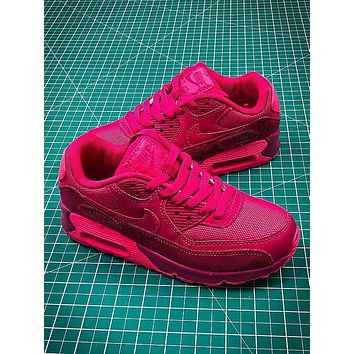 Nike Air Max 90 Pink Sport Running Shoes