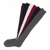 Over knee Long Boot Thigh High Warm Stockings Ladies Women Stockings Winter Soft Cable Knit