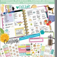 Happy Planner Value Pack Stickers - Essential Planning