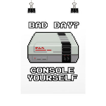 Console Yourself Poster