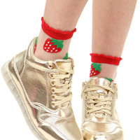 GOLD JELLY SOLED SNEAKER
