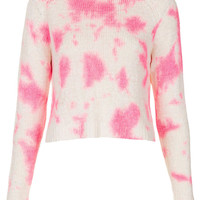 Knitted Tie Dye Crop Jumper - New In This Week - New In - Topshop USA
