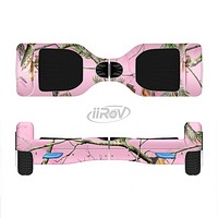 The Pink Real Camouflage Full-Body Skin Set for the Smart Drifting SuperCharged iiRov HoverBoard