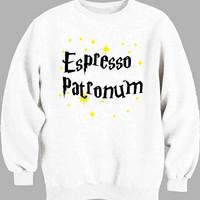 Harry Potter Espresso Patronum Sweater for Mens Sweater and Womens Sweater *