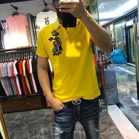 DG Men Fashion Casual Letter Print Shirt Top Tee created created