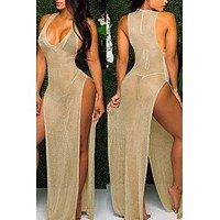Barely There Swim Cover (Gold)