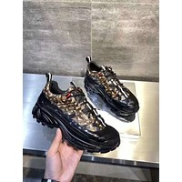 Burberry2021Men Fashion Boots fashionable Casual leather Breathable Sneakers Running Shoes 08260wk